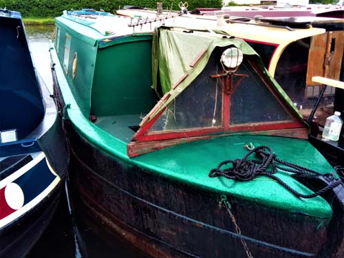40ft project build narrowboat