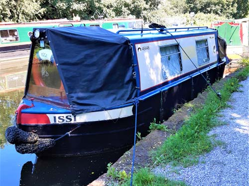 Mick Sivewright Venetian 25ft cruiser stern narrowboat