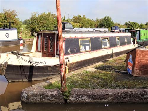 Stepaside 1991 42ft Liverpool Boats cruiser stern narrowboat