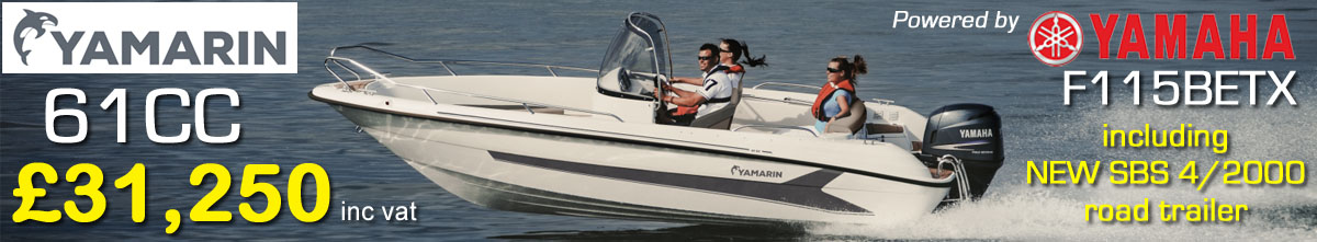 NEW 2019 Yamarin 61CC £29,995 Yamarin Boats UK Dealers