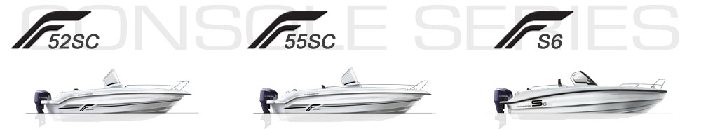 Finnmaster GRP Sport Boats Console Series S Series