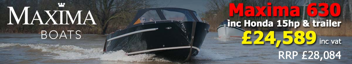 NEW Maxima 630 £24589 Maxima Boats UK Dealers
