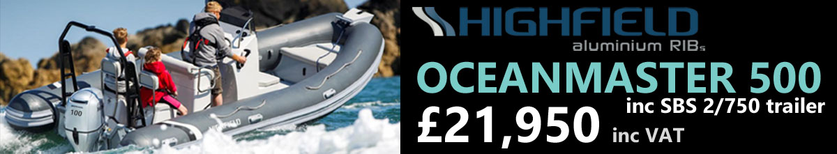 NEW Highfield 500 Oceanmaster £22,750 Highfield Boats UK Dealers