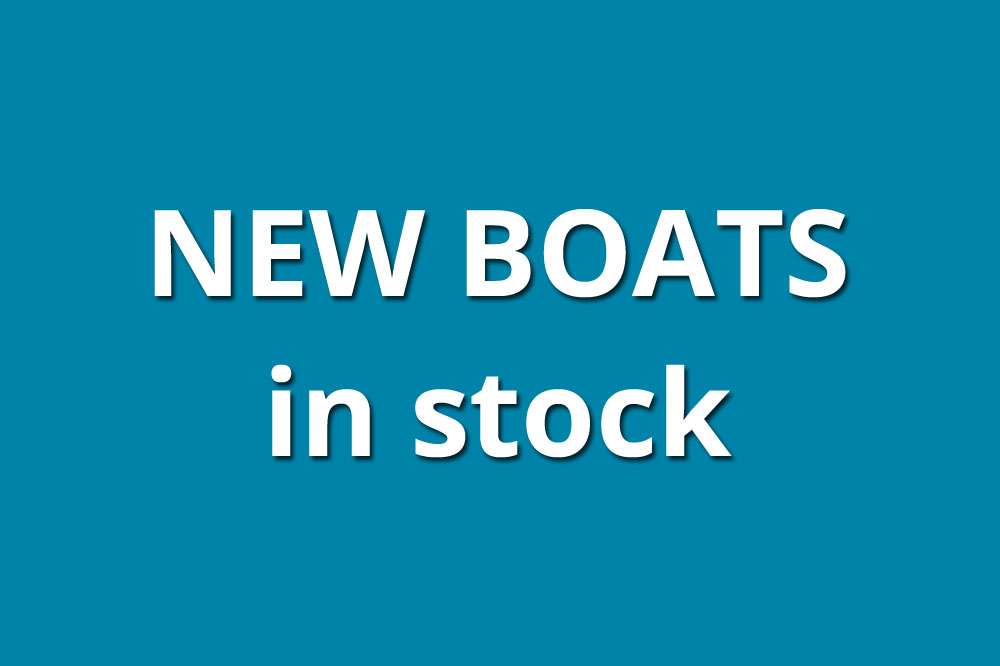New boats in stock