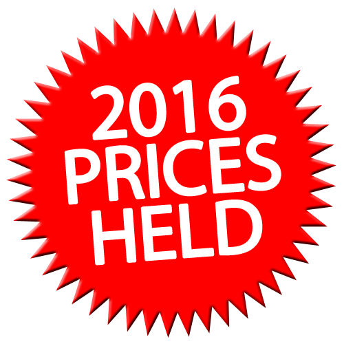 2016 prices held