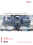 Honda Marine Accessories Brochure