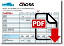 Yamarin Cross Boats Price List