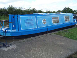 Narrowboat day hire boat available